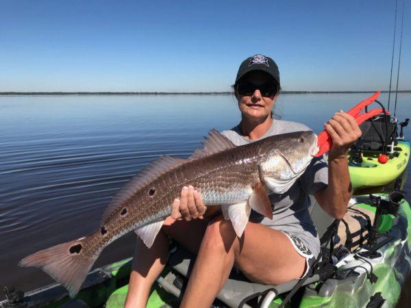 Navarre Inshore Kayak Fishing Charters