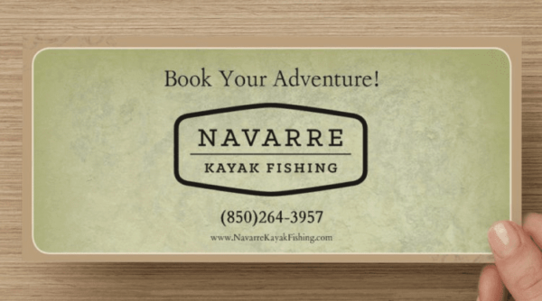 Navarre Kayak Fishing Gift Certificates