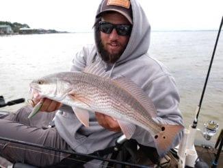 Kayak Fishing For Redfish